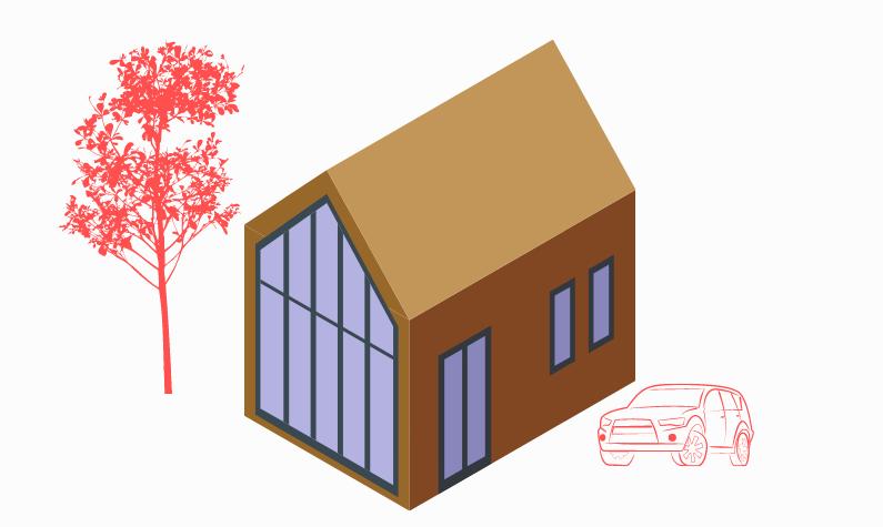 Ett modernt hus
