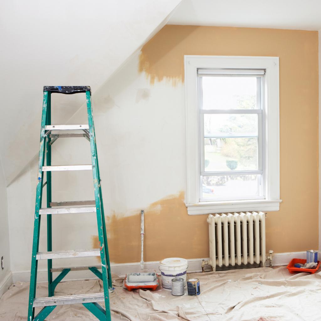 Renovering av sovrum