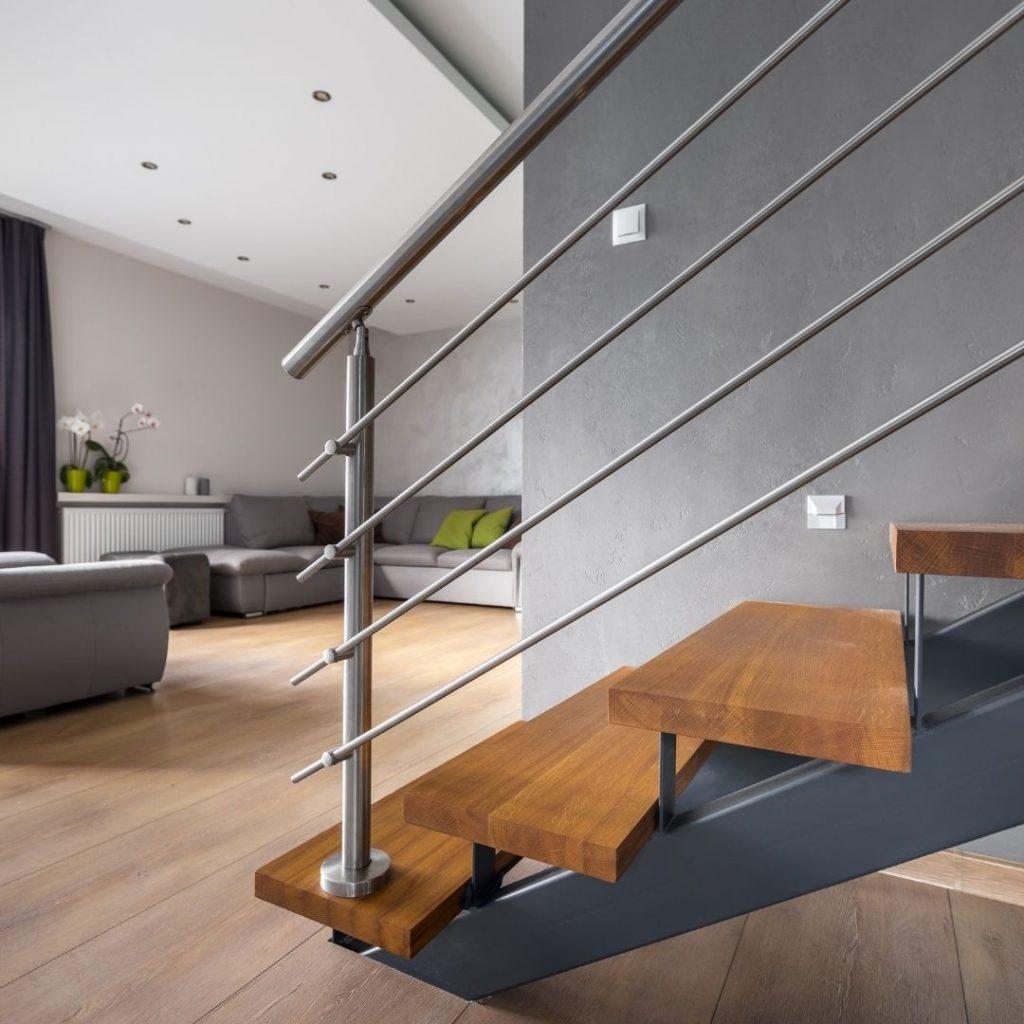 Modernt trappräcke